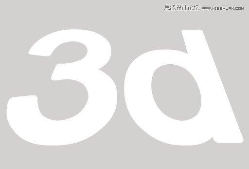 Photoshop制作3D效果的暗红色艺术字10