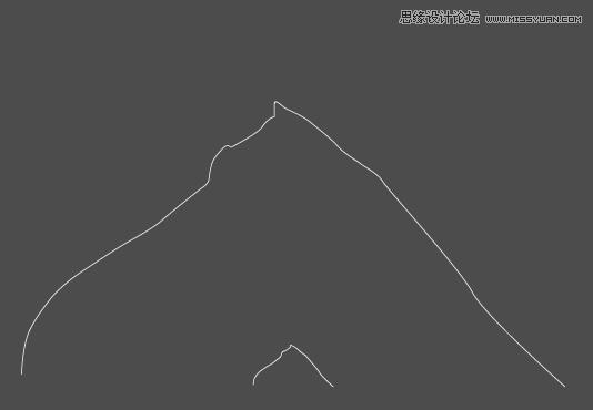 Illustrator绘制简洁风格的小山丘教程4