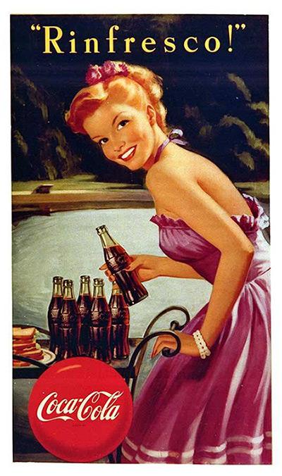 百年可口可乐平面广告作品欣赏49