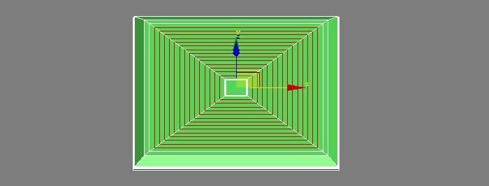 3DSMAX制作绿色排气扇3d建模8