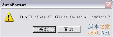 相机SD卡提示未格式化 文件系统损坏怎么办13