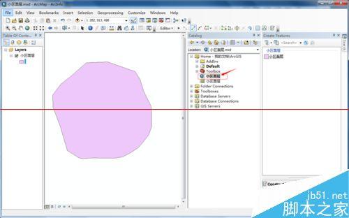 ArcMap绘图软件绘制一个小区面层图形的详细教程13