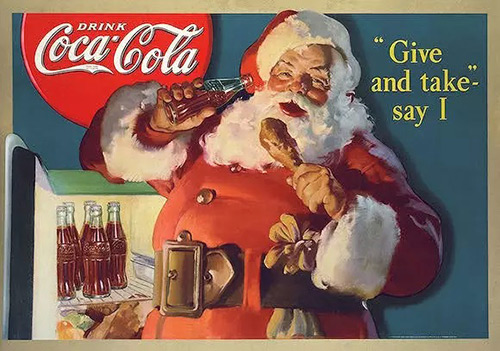 百年可口可乐平面广告作品欣赏35