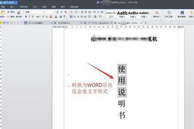 使用金山PDF转WORD工具的教程10