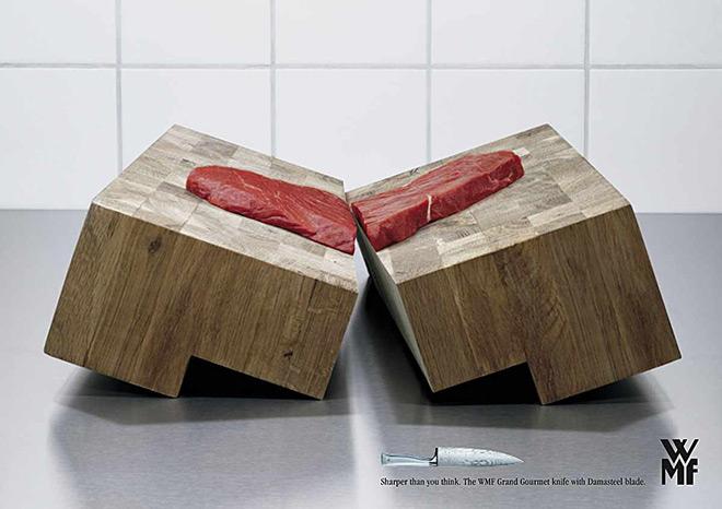 德国刀具品牌创意海报2