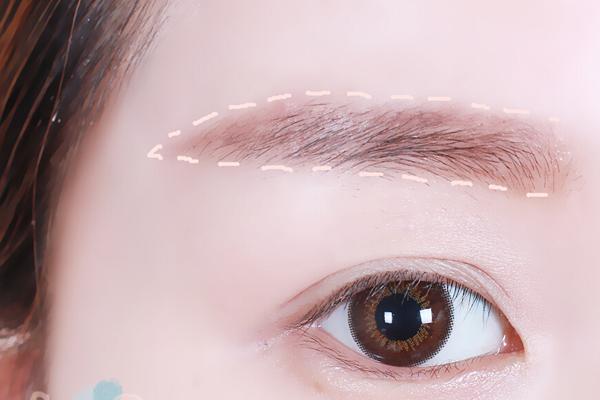 新娘眉毛的画法技巧分析8