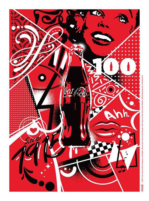 百年可口可乐平面广告作品欣赏21