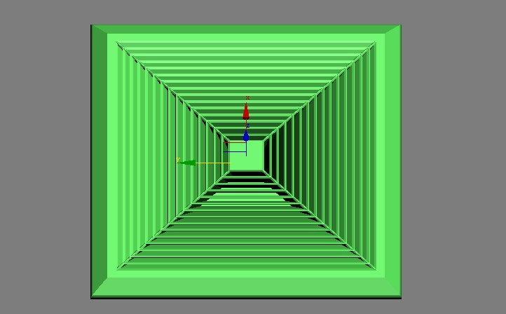 3DSMAX制作绿色排气扇3d建模1
