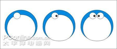 教你用CDR绘制可爱的哆啦A梦4
