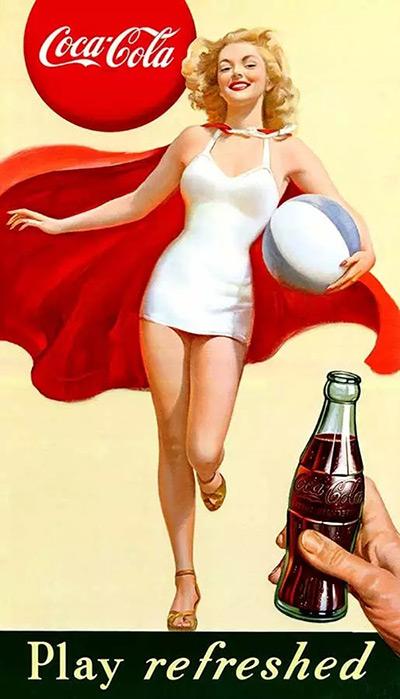 百年可口可乐平面广告作品欣赏36