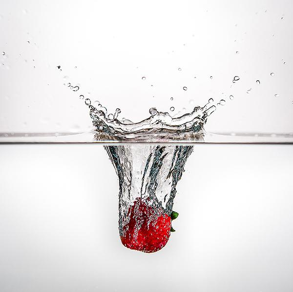闪光灯高速同步记录水果落入水中的精彩瞬间--初学者必看3