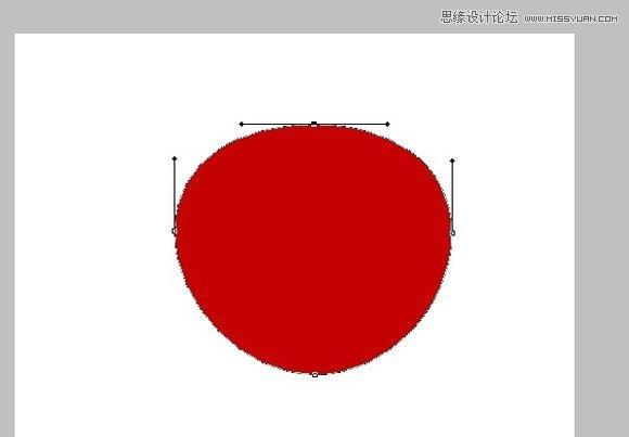 Photoshop cs5鼠绘逼真可口的红苹果4