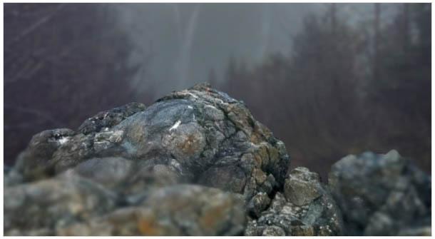 PS合成頭頂冒火的鹿王圖片5