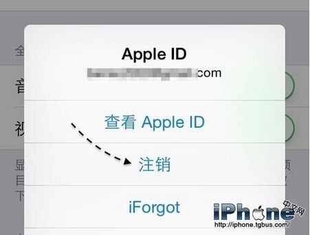 iPhone6设置Apple ID教程 更换注销方法4