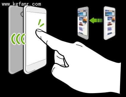HTC One M9+的NFC功能应用解释1
