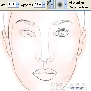 Painter教程之写实人物绘画4