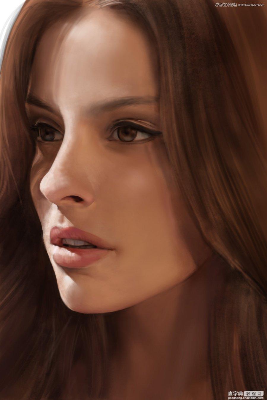 人物肖像绘画教程