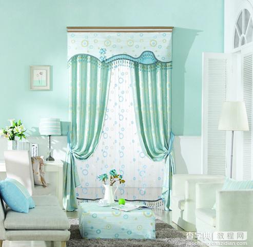5款地中海风格客厅窗帘效果图