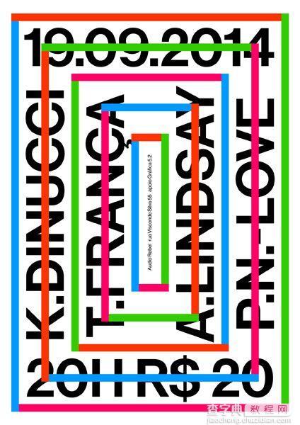 矩形海报设计5