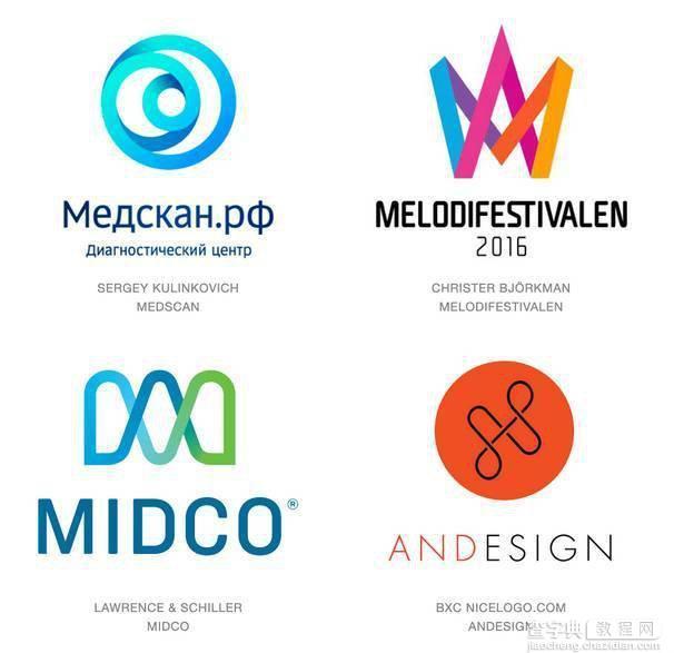 2016年Logo设计趋势5