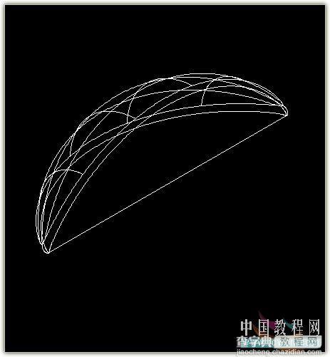 AutoCAD教程:绘制逼真的橄榄球两种方法介绍10