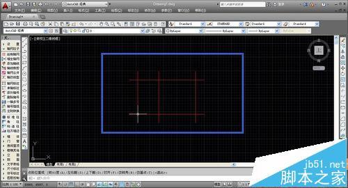 CAD建筑图纸中怎么绘制转角窗和轴网墙?5
