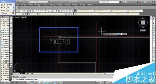 CAD建筑图纸中怎么绘制转角窗和轴网墙?14
