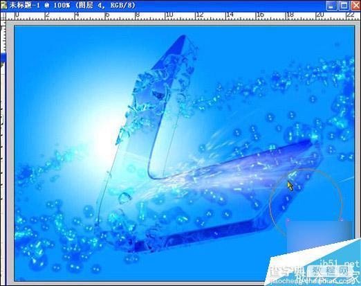 Maya Wavefront粒子系统打造晶莹剔透的液体效果1