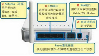 D-Link DI-524M路由器设置教程[图文]1