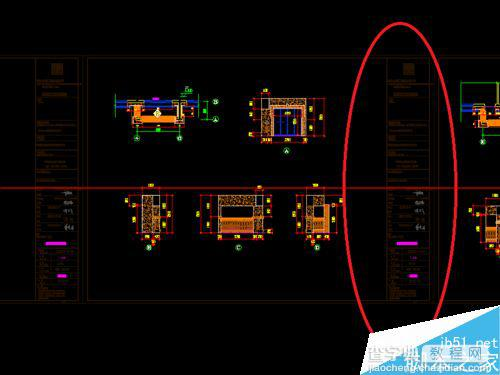 CAD参照的图框颜色太图库整?cad2008暗调图片